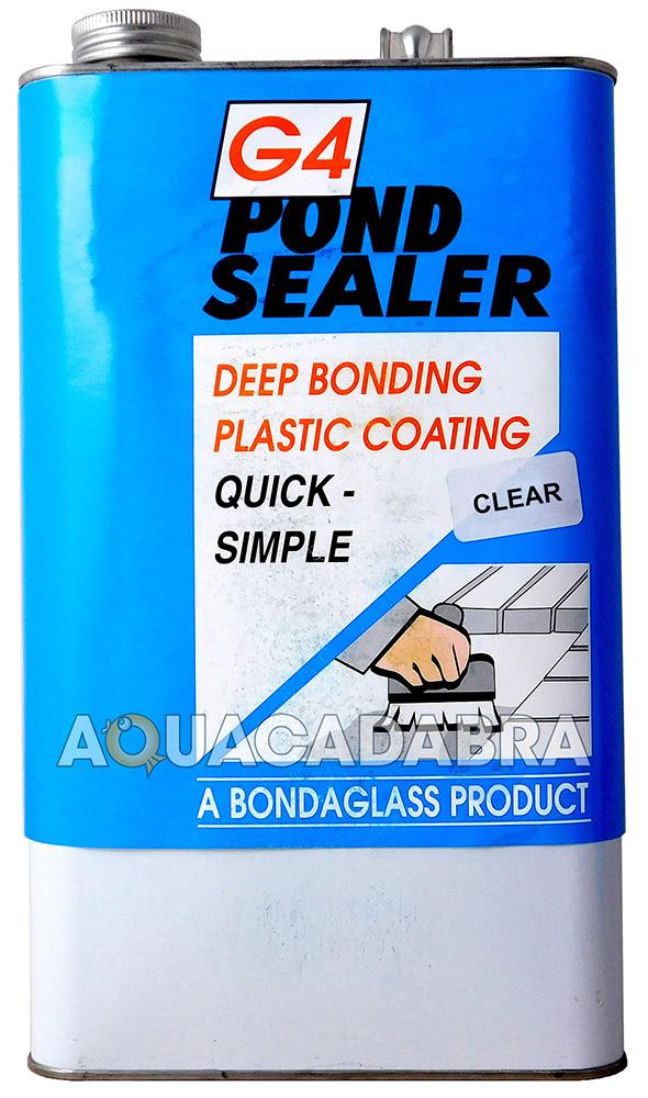 G4 Pond Paint Sealer Concrete Seal Waterproof Paint Sealant Garden Koi Fish Bond Ebay