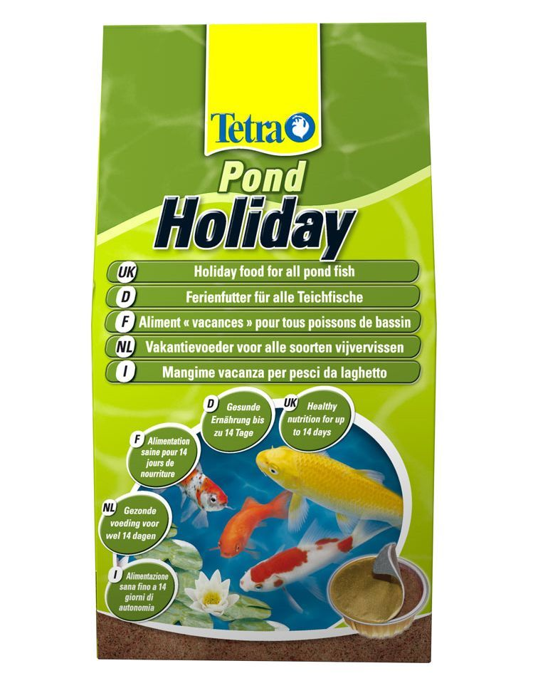 Tetra holiday food block weekend vacation sticks fish for Goldfish pond kits