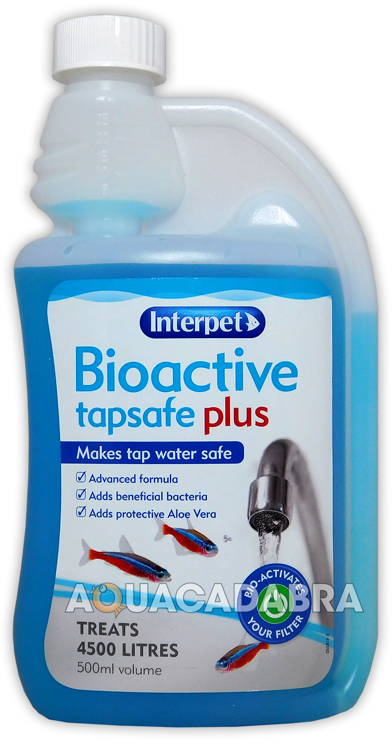 Interpet bioactive tap safe plus chlorine water for How to make tap water safe for fish
