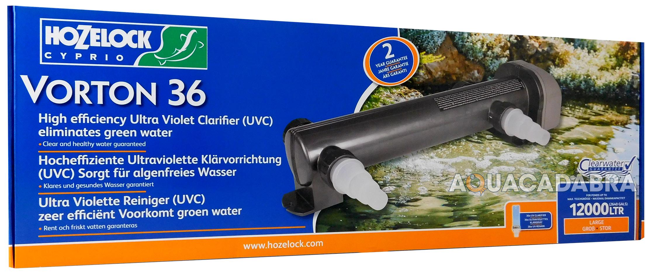 Hozelock cyprio vorton uvc unit garden pond koi fish water for Acqua verde laghetto