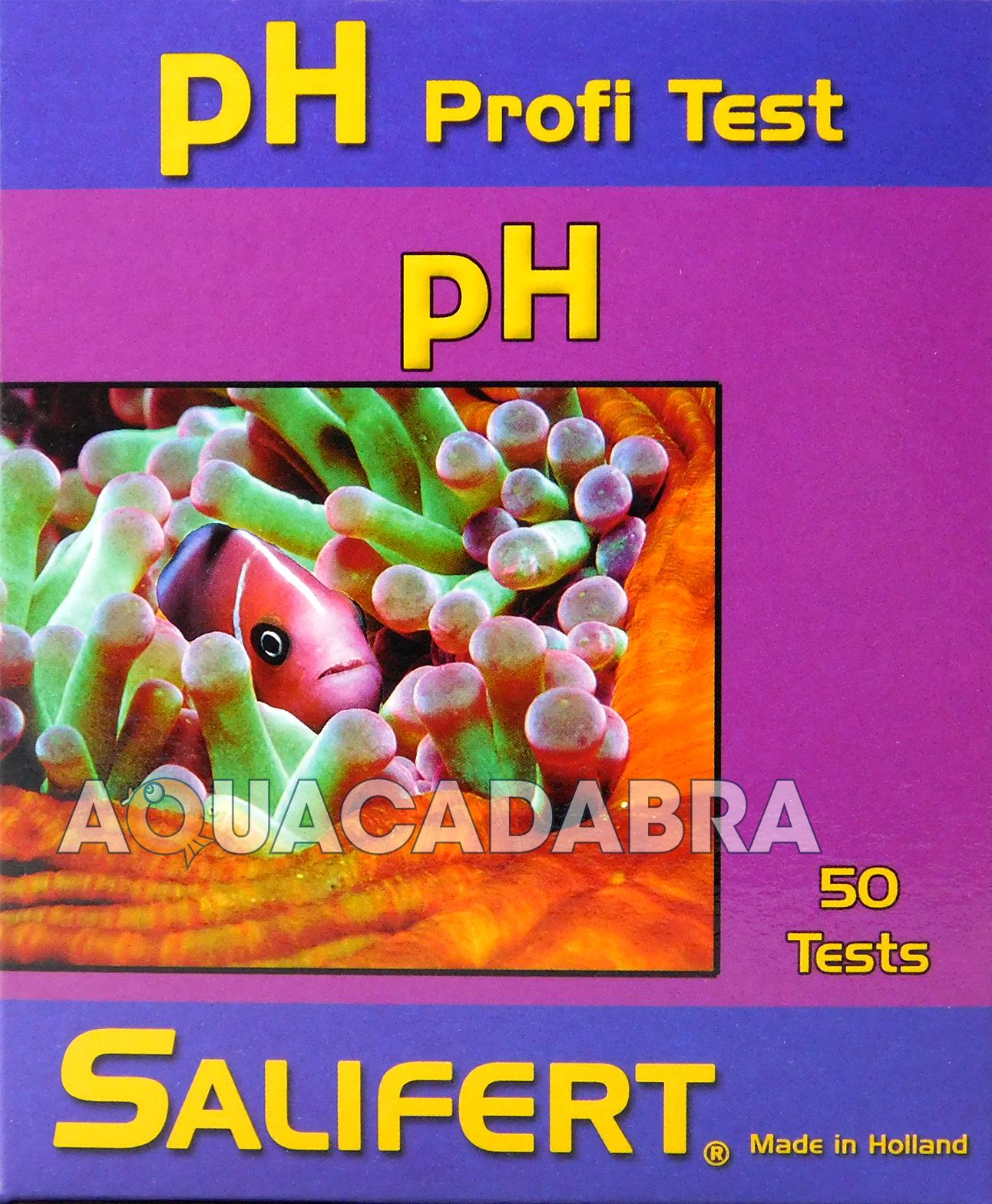 Salifert Ph Profi Test Kit For Saltwater Marine 50 Tests Fish Tank