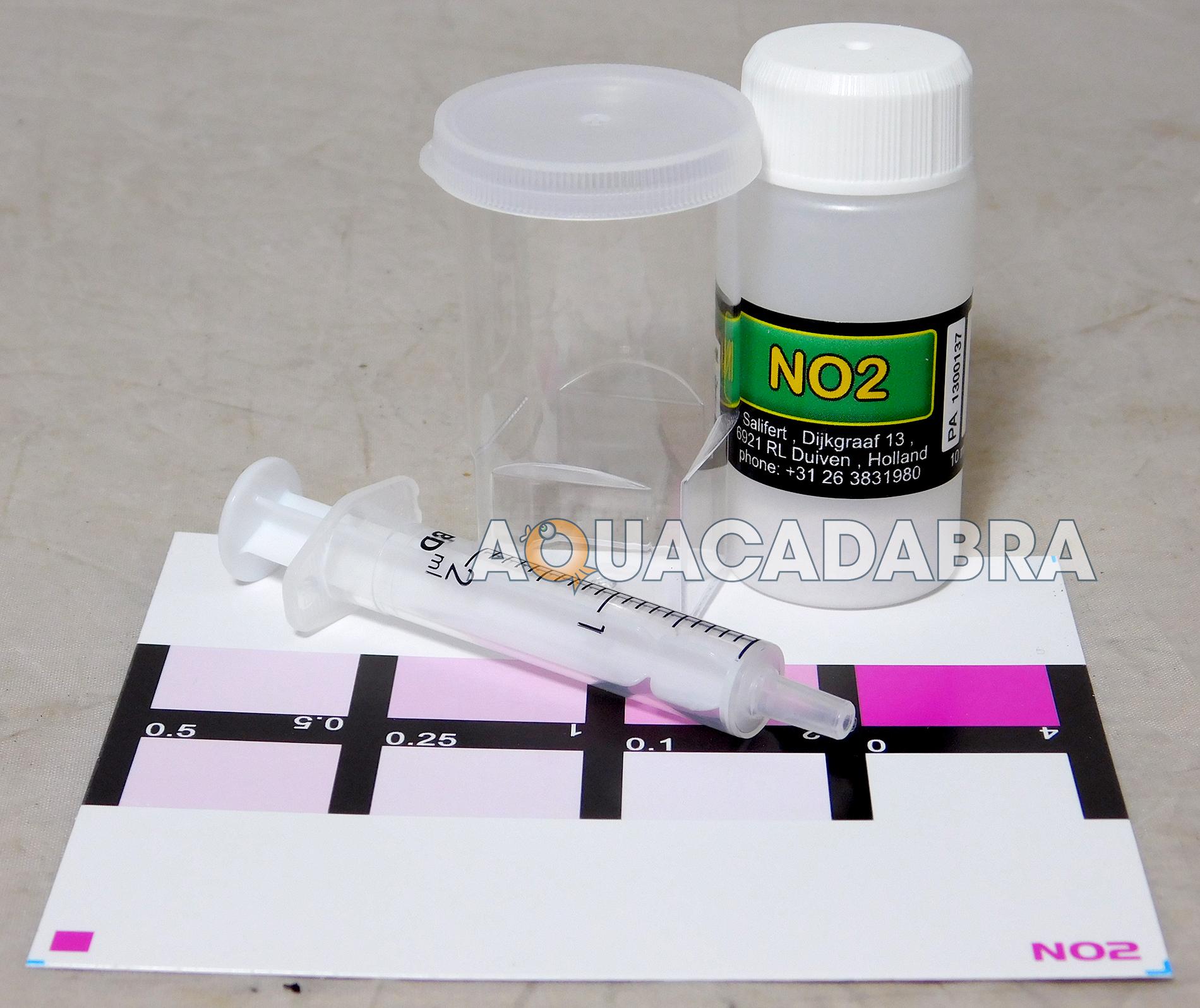 salifert nitrate test kit instructions