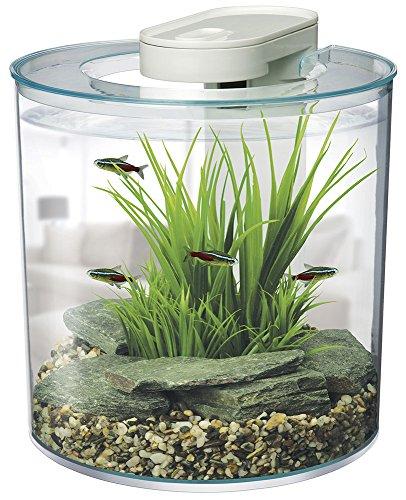marina 360 aquarium kit fish tank gallons 10 litres led lighting ebay. Black Bedroom Furniture Sets. Home Design Ideas