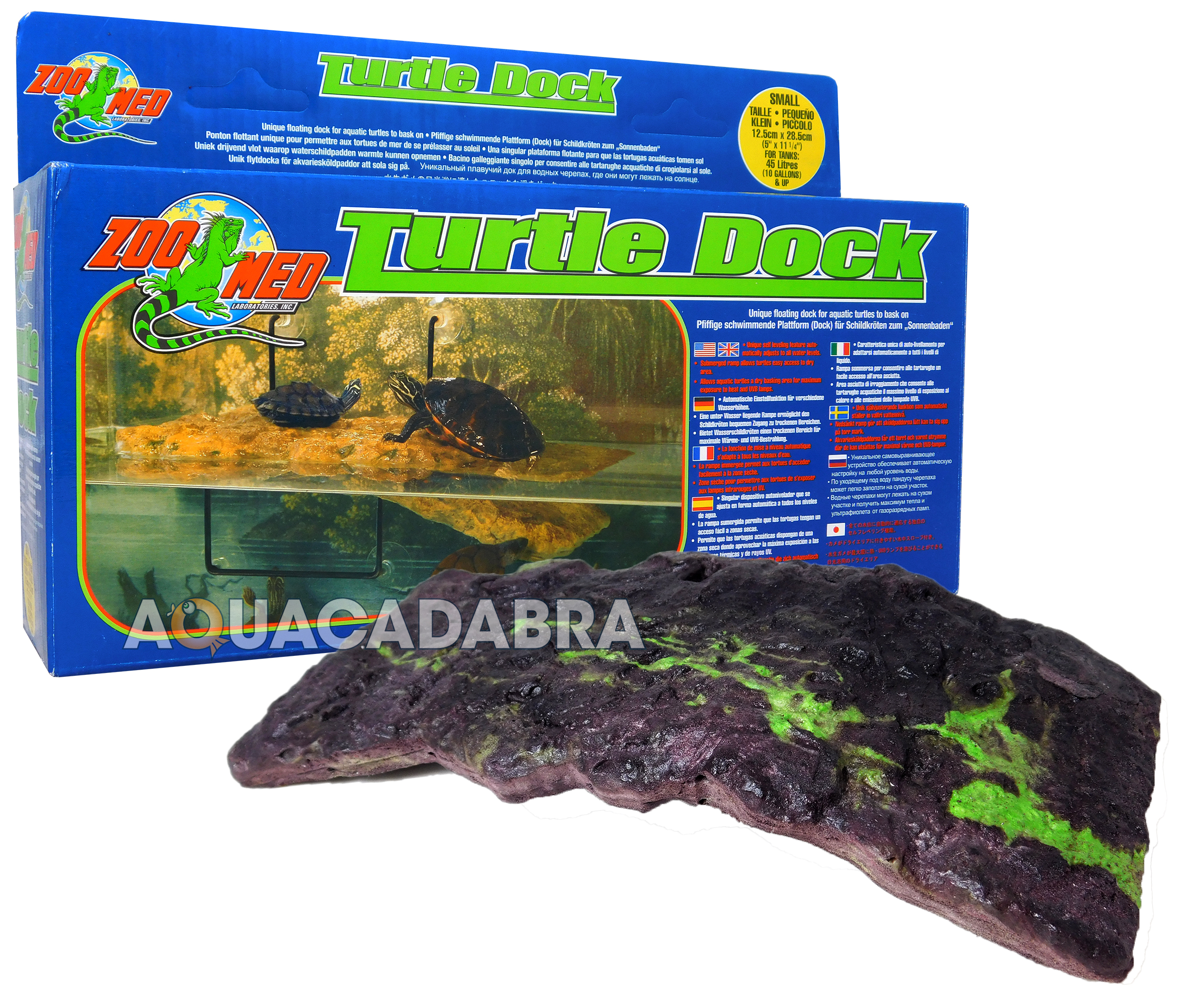 ZOO-MED-FLOATING-TURTLE-DOCK-SMALL-MEDIUM-LARGE-amp-SUCKERS-ZOOMED-TERRAPINS