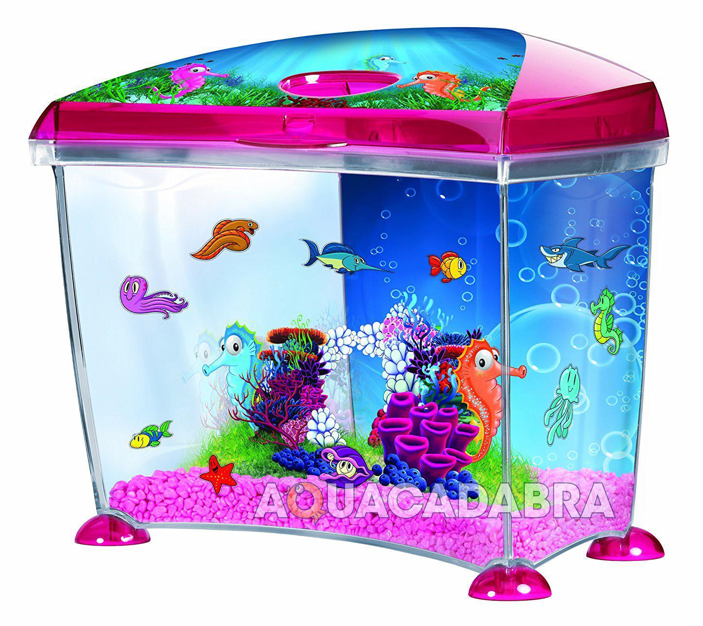 Marina seahorse 14l aquarium kit fun scene filter nutrafin for Aquarium decoration sealant