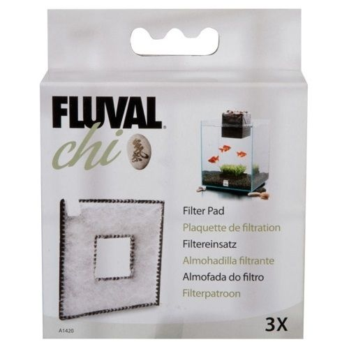 Fluval Chi Fish Tank Replacement Filter Pad 3pk Ebay