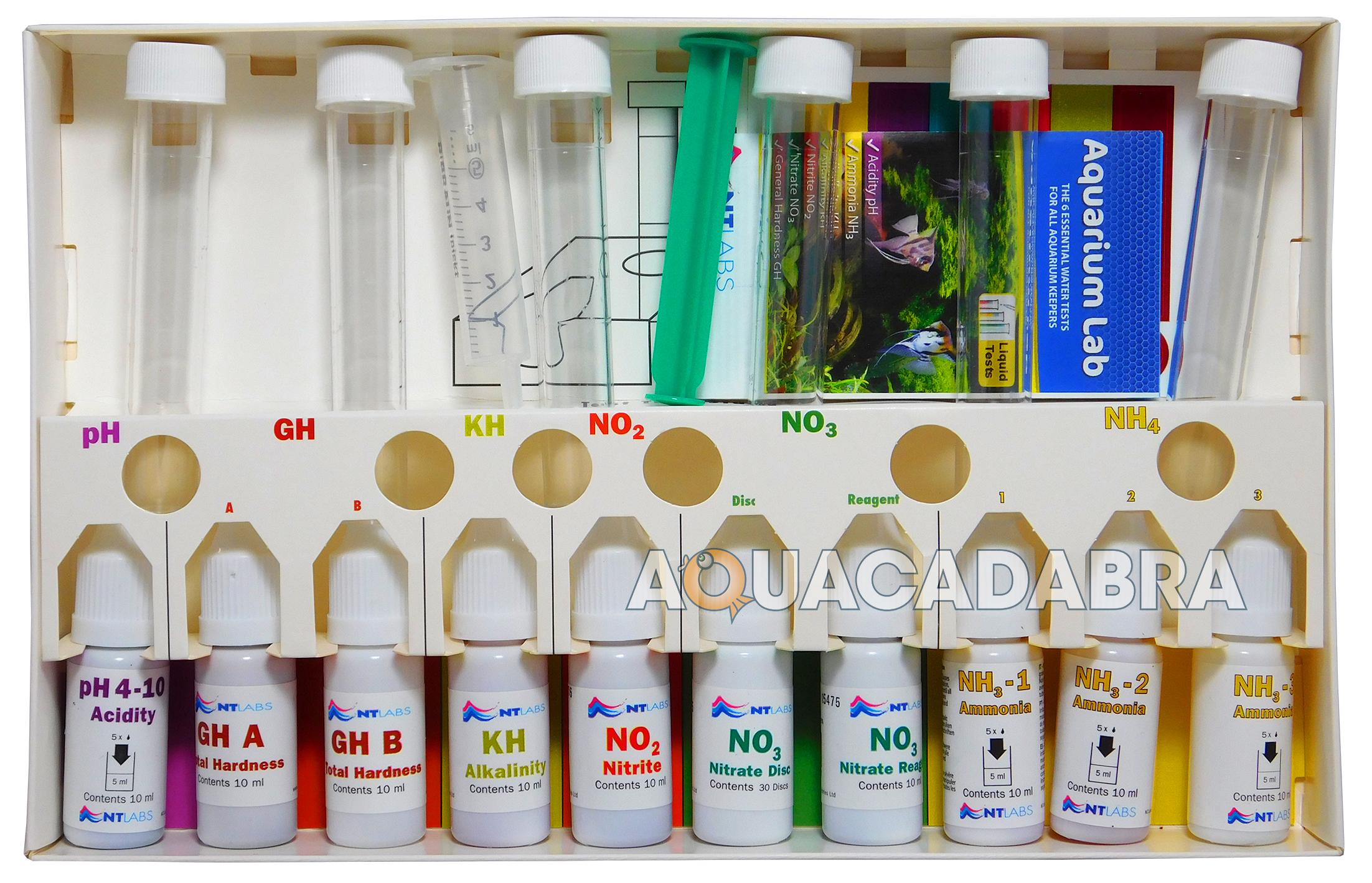 nt labs aquarium lab multi test master kit water testing tropical fish tank 733809001700 ebay. Black Bedroom Furniture Sets. Home Design Ideas