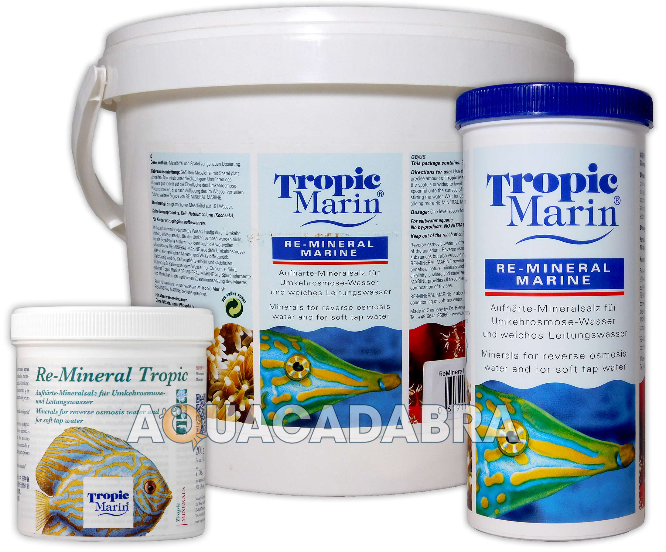 Details about TMC TROPIC MARIN RE-MINERAL MARINE/TROPICAL 200G/4 55KG  AQUARIUM FISH TANK