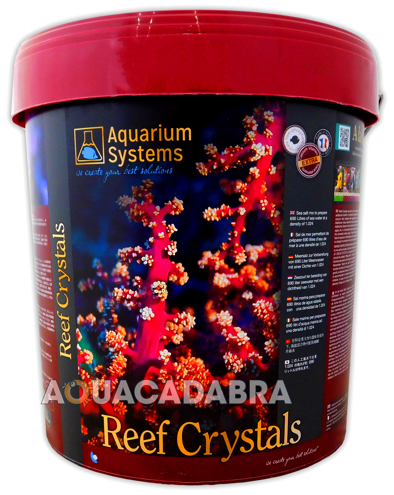 Reef Crystals 20kg Sea Salt Marine Coral Bucket Fish Tank Resun Sk 05 Protein Skimmer Aquariums Systems