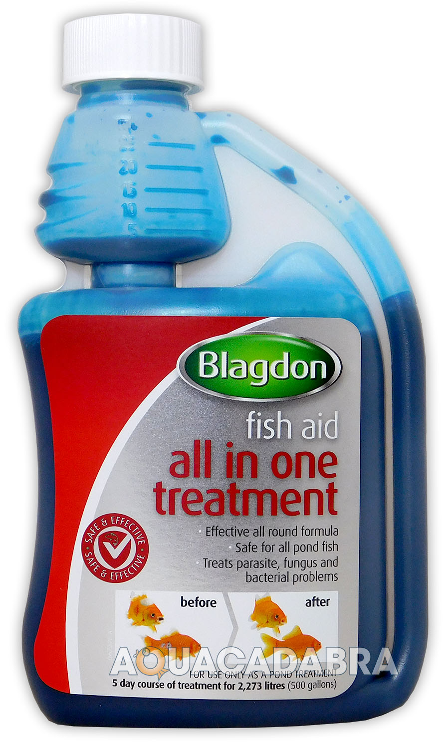Blagdon all in one 250ml all round treatment parasite fungus blagdon all in one 250ml all round treatment parasite fungus bacteria fish koi publicscrutiny Gallery