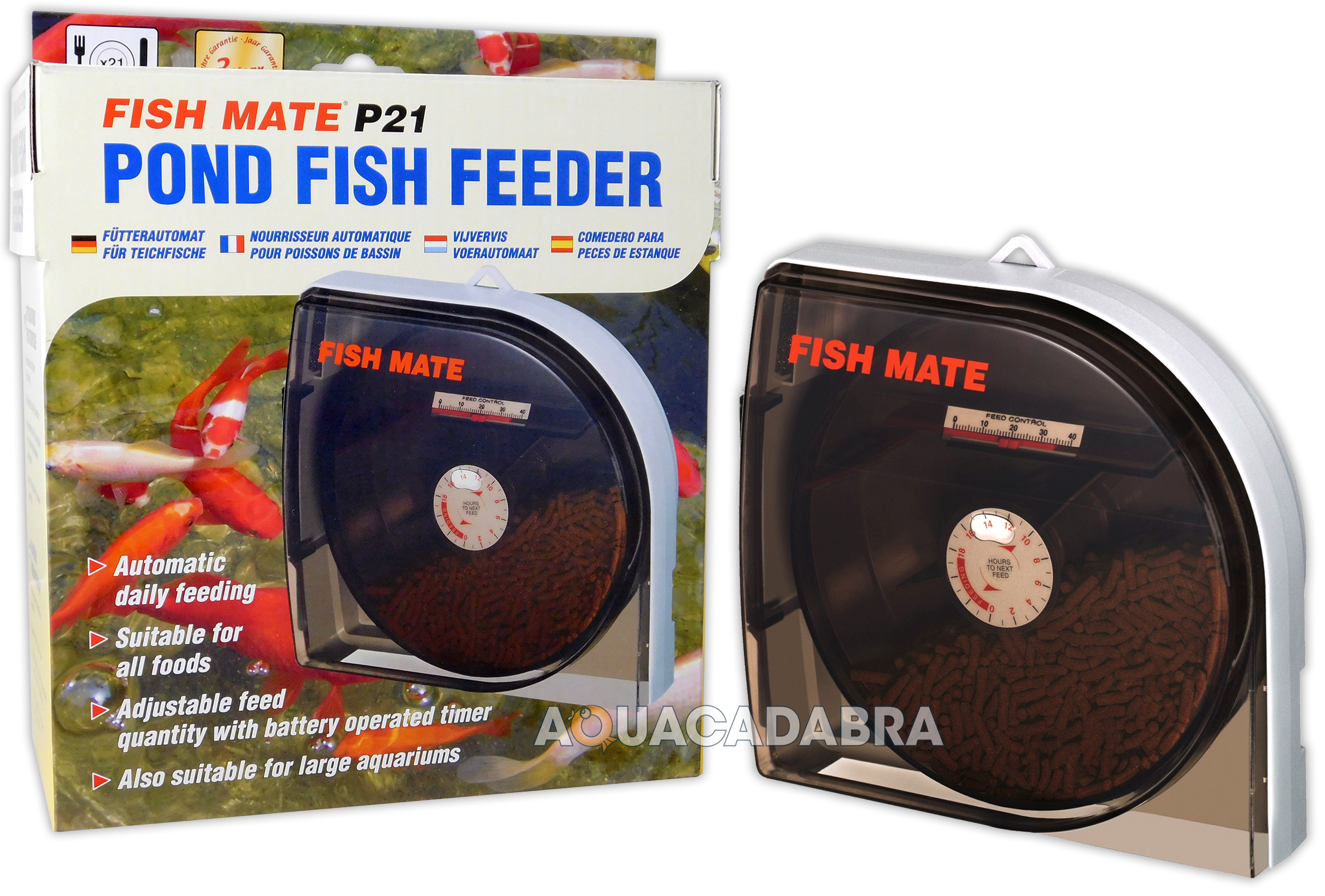 com culture double aquarium daily automatic ip for feeder walmart food aqua fish ii