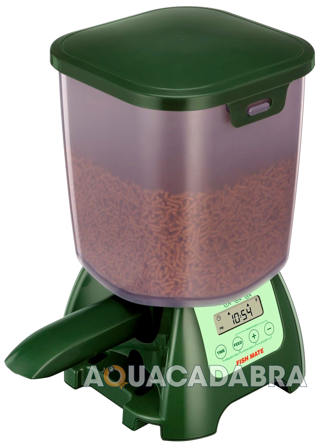 Fish mate automatic feeder auto pond aquarium tank holiday for Fish feeders for ponds