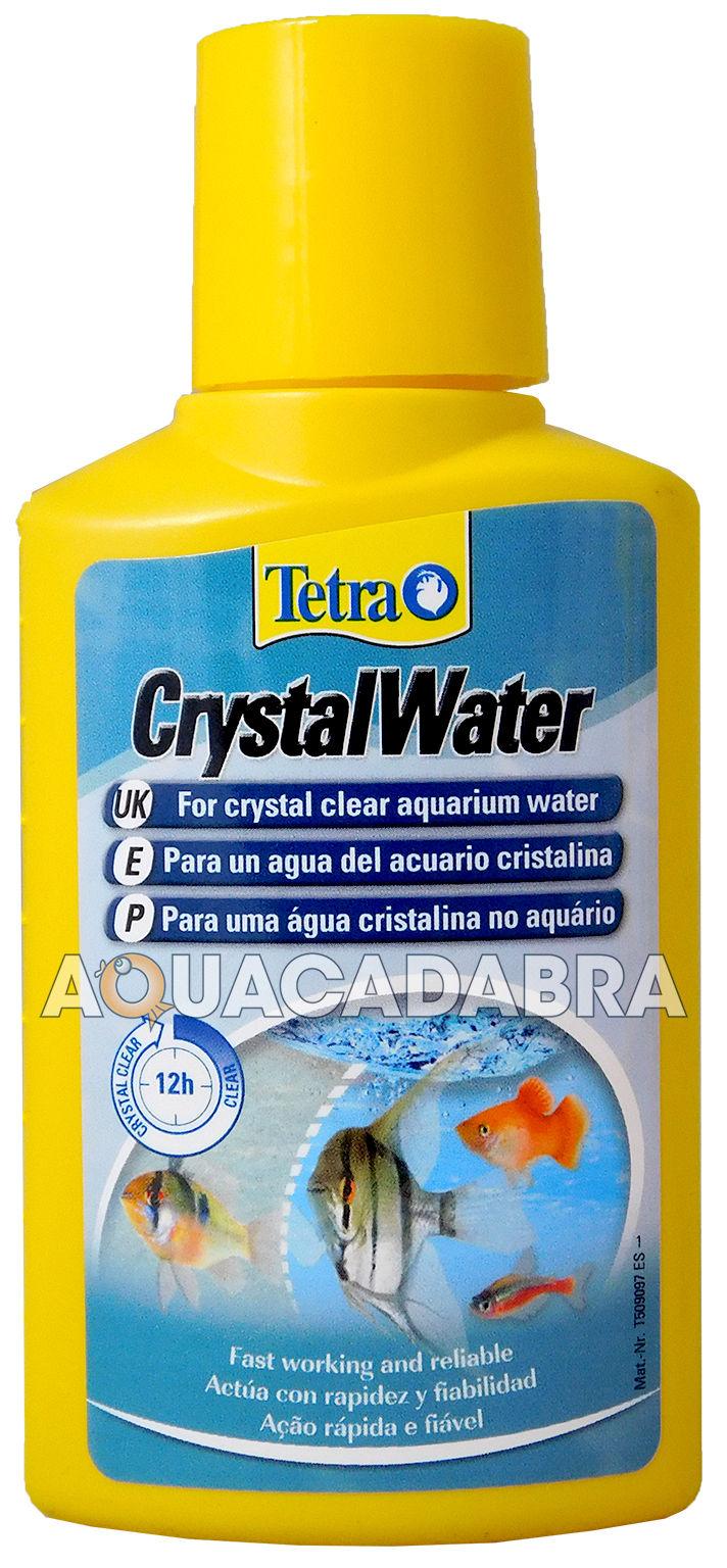 Tetra aquarium crystal water fish treatment 100ml 500ml for Cloudy water in fish tank solutions