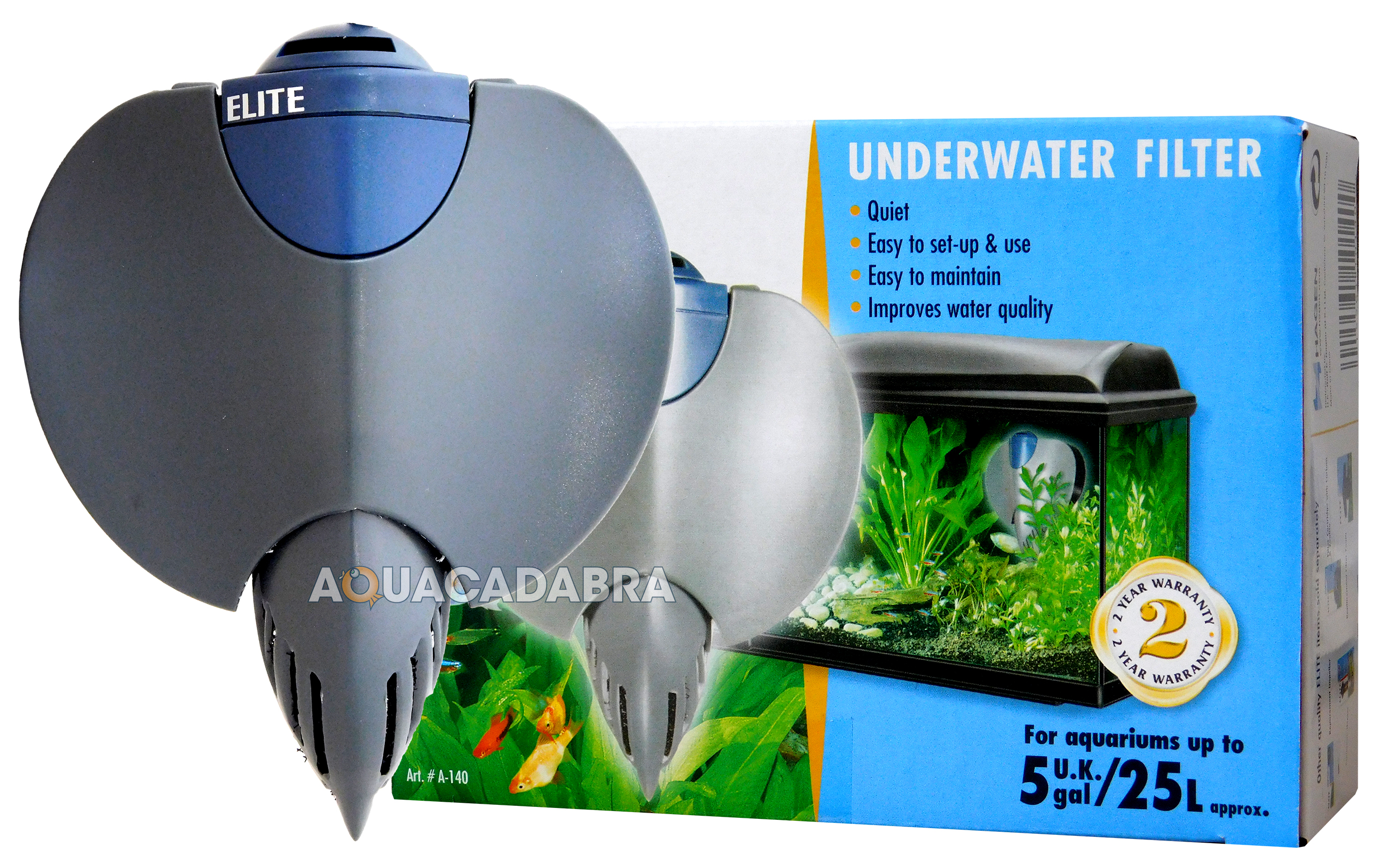 ELITE STINGRAY INTERNAL FISH TANK AQUARIUM FILTER PUMP 5 10 15