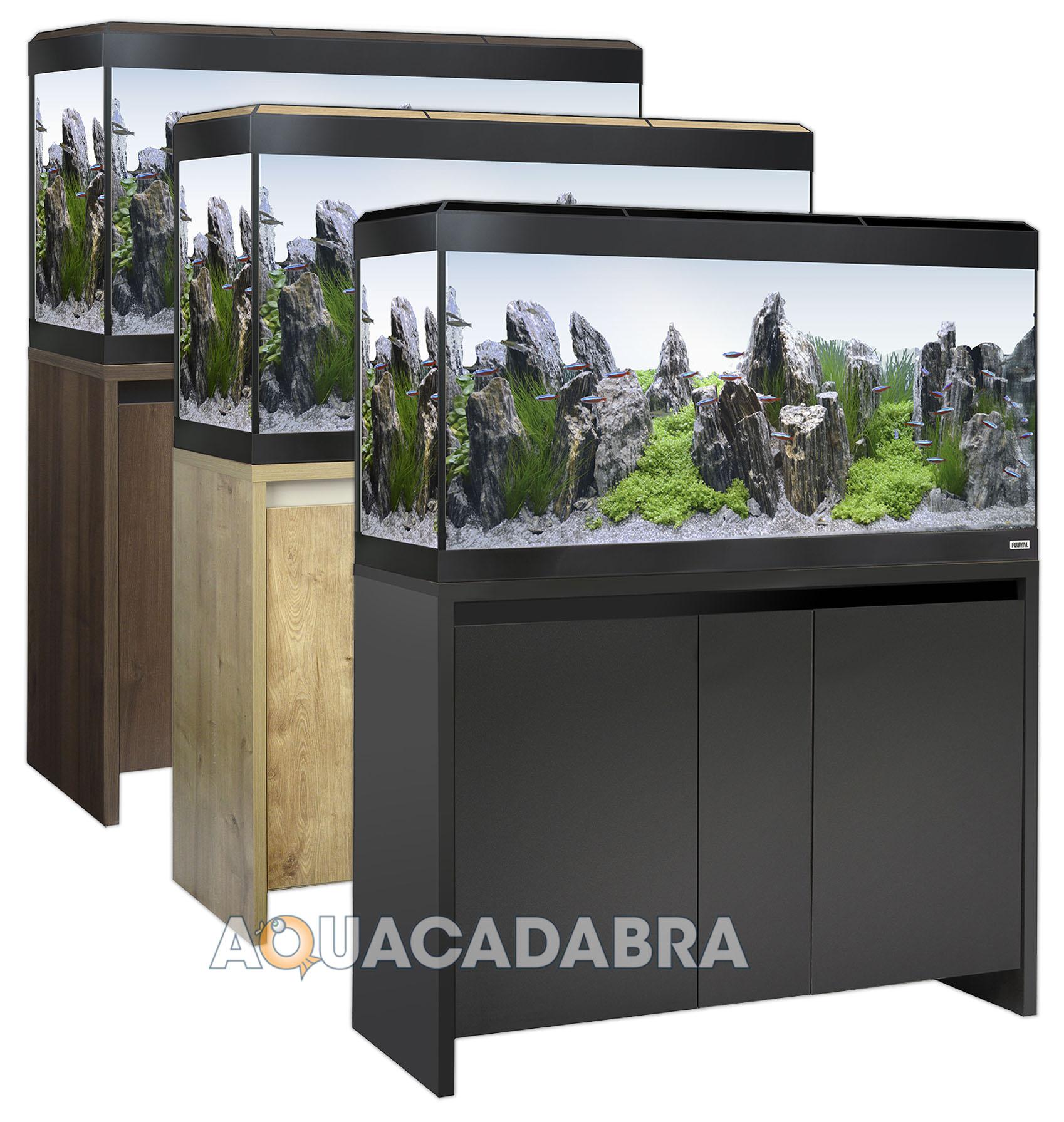 Roma Noir 90 Sur Titre Aquarium Afficher Cabinet Fluval 240 Chêne L QWexBCdro