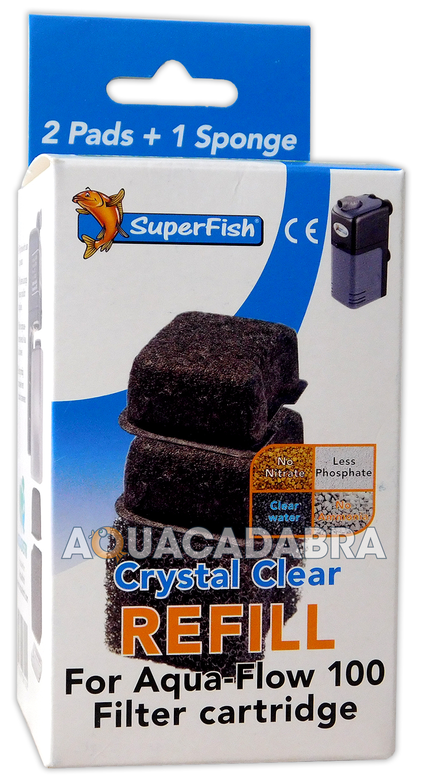 Superfish Crystal Clear Water Aqua Flow Filter Cartridges