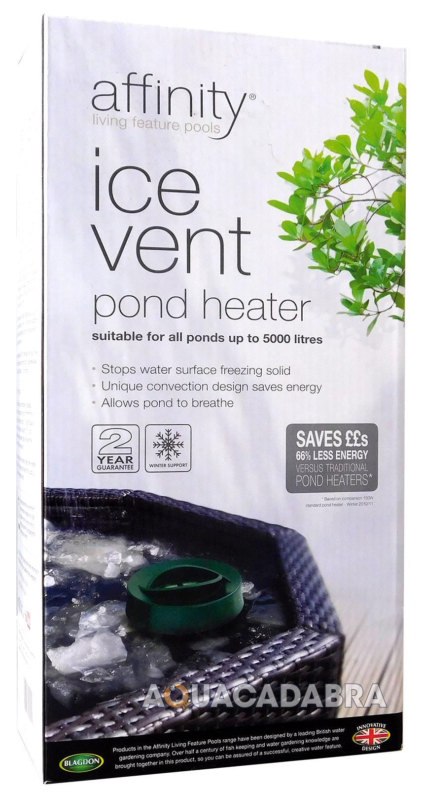 Blagdon affinity ice vent winter pond heater for cold for Blagdon affinity pond