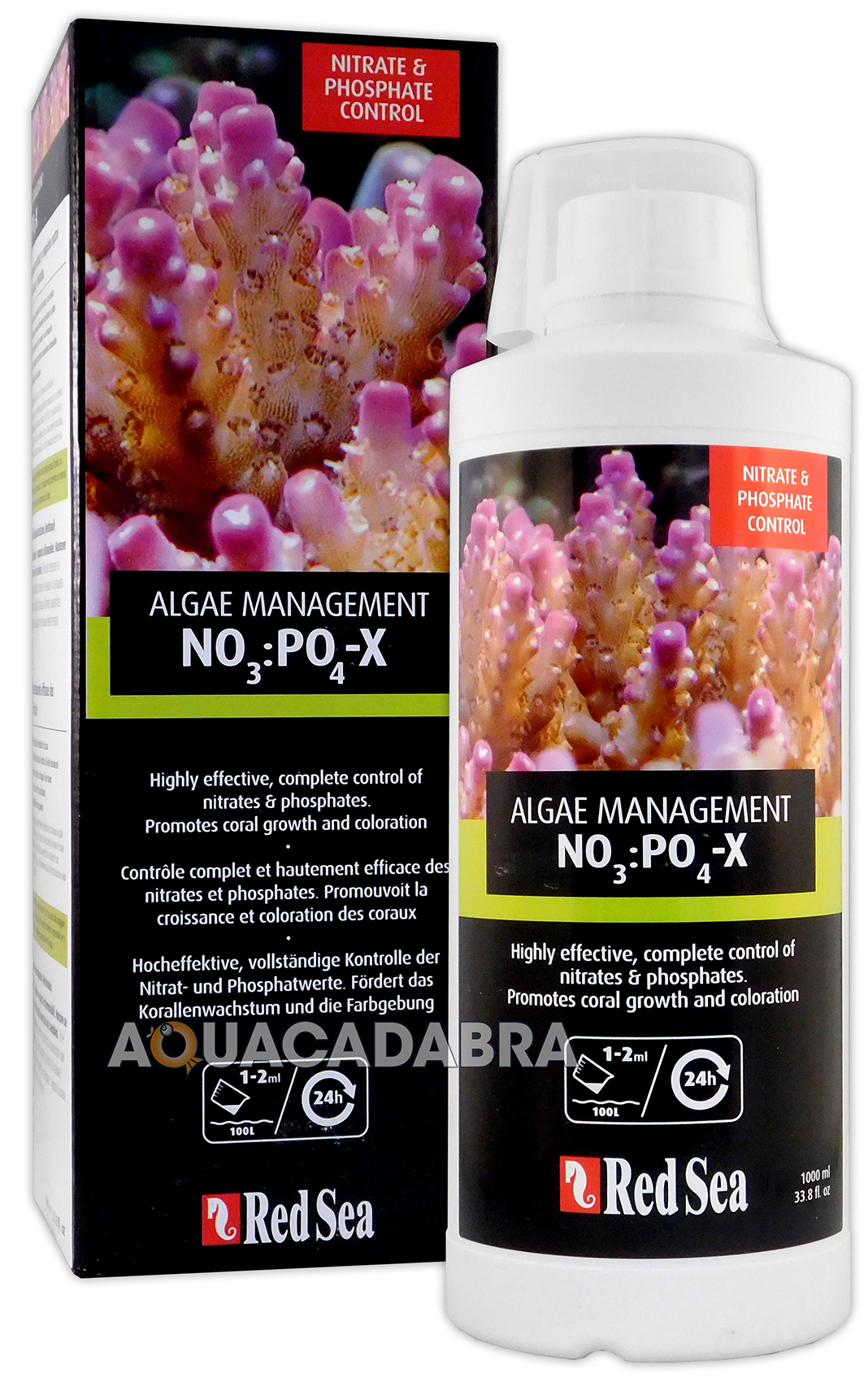 Red Sea No3 Po4 X Npx Nitrate Amp Phosphate Remover No Pox