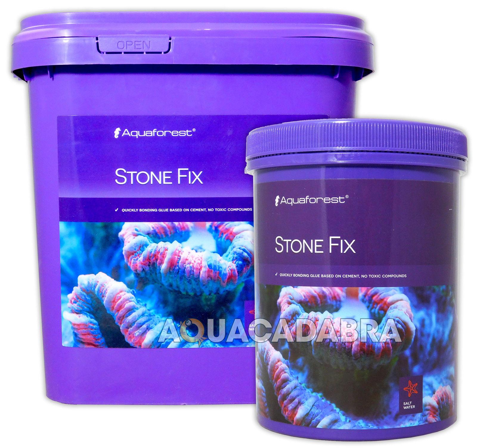 Aquaforest stone fix 1l 5l marine quick bonding glue for Fish tank glue