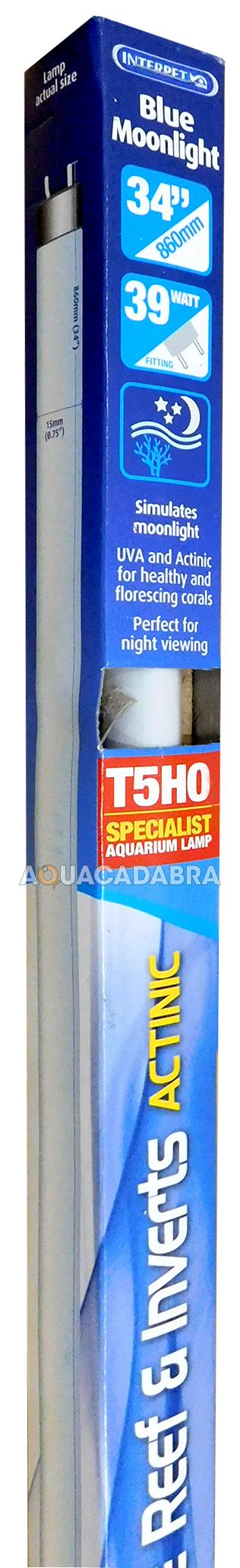 INTERPET-BLUE-MOON-MOONLIGHT-T5-T8-FISH-TANK-LIGHT-LIGHTING-MARINE-REEF-ACTINIC