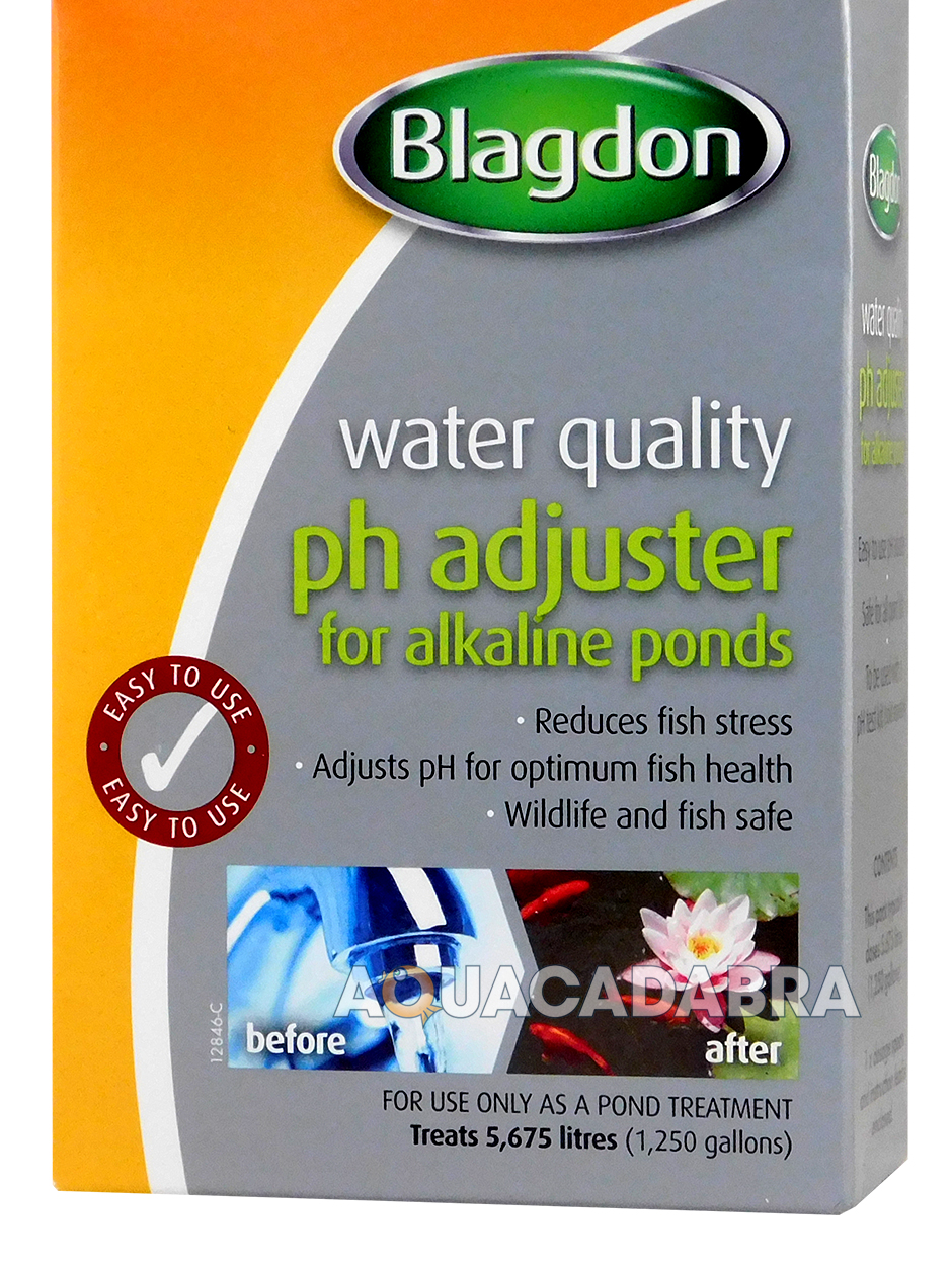 Blagdon ph adjuster for alkaline pond water treatment fish for Ph for koi fish