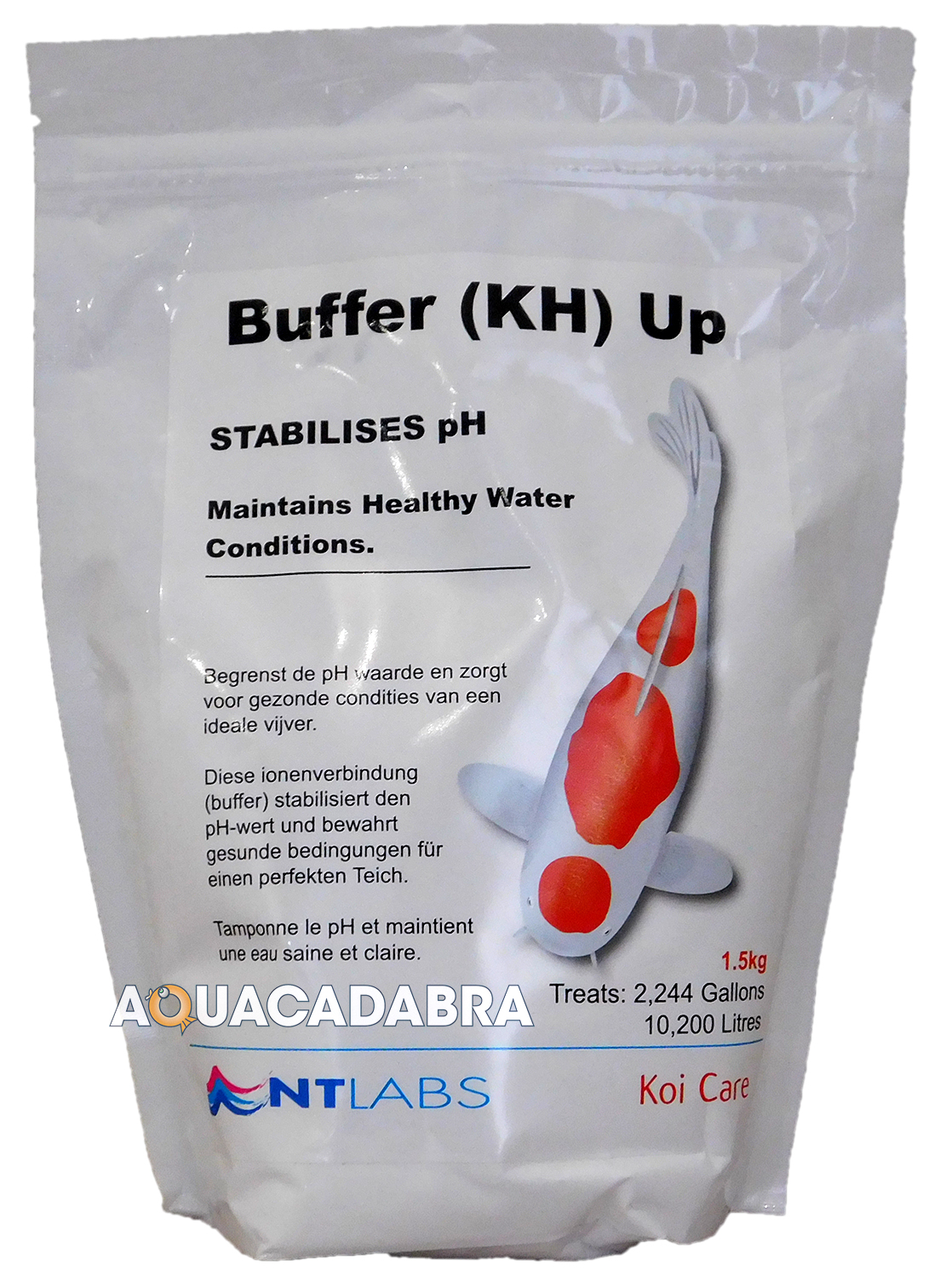 nt labs buffer kh up 1 5kg 5kg 20kg increase koi pond