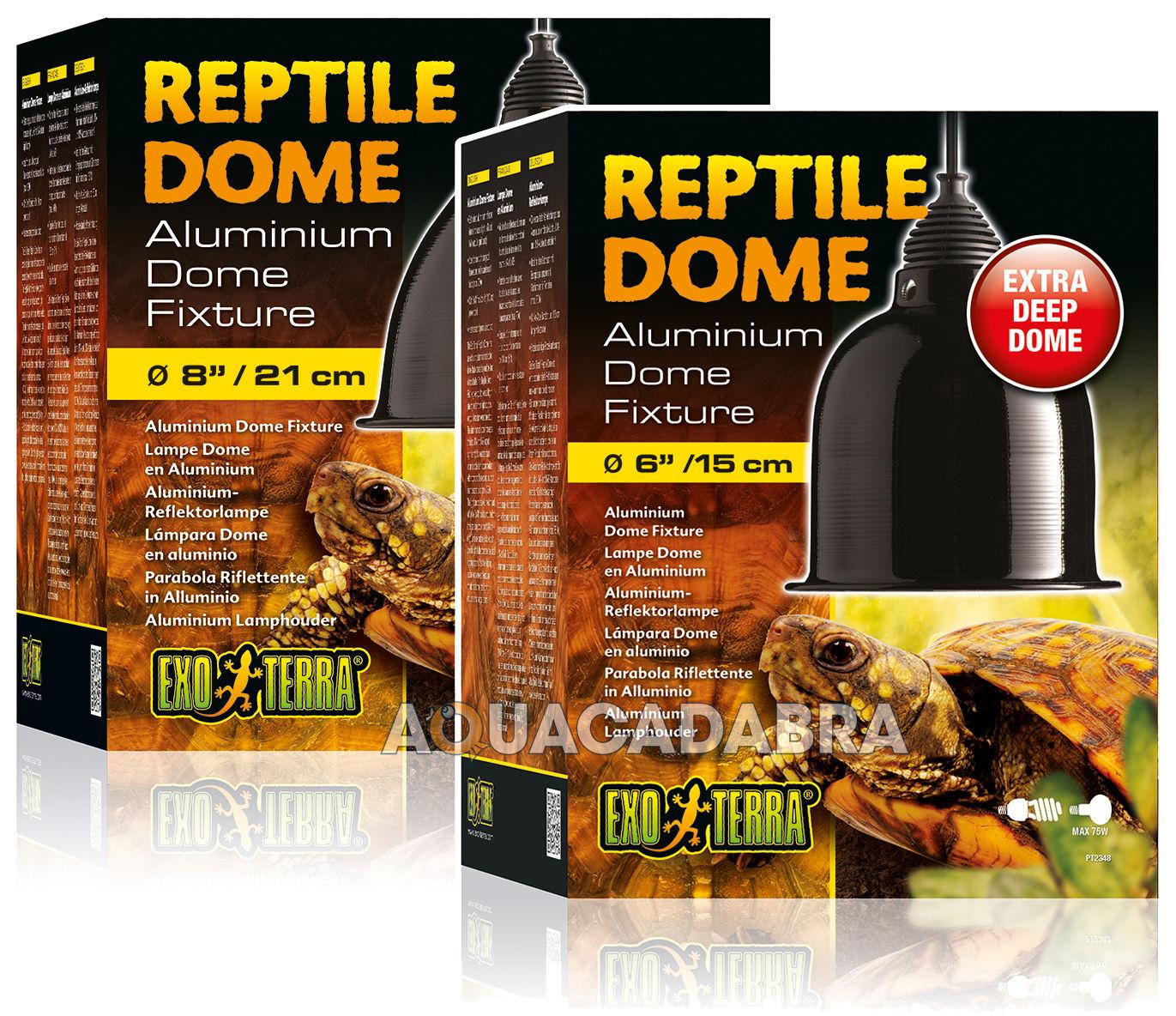 Exo Terra Reptile D 244 Mes Aluminium Dome Fixtures Petit