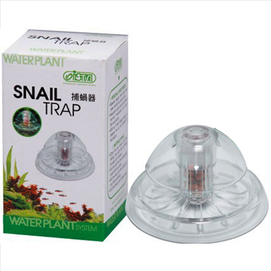 Aquarium Clear Large Snail Trap Natural Catch Remover Tropical Coldwater Pet Supplies