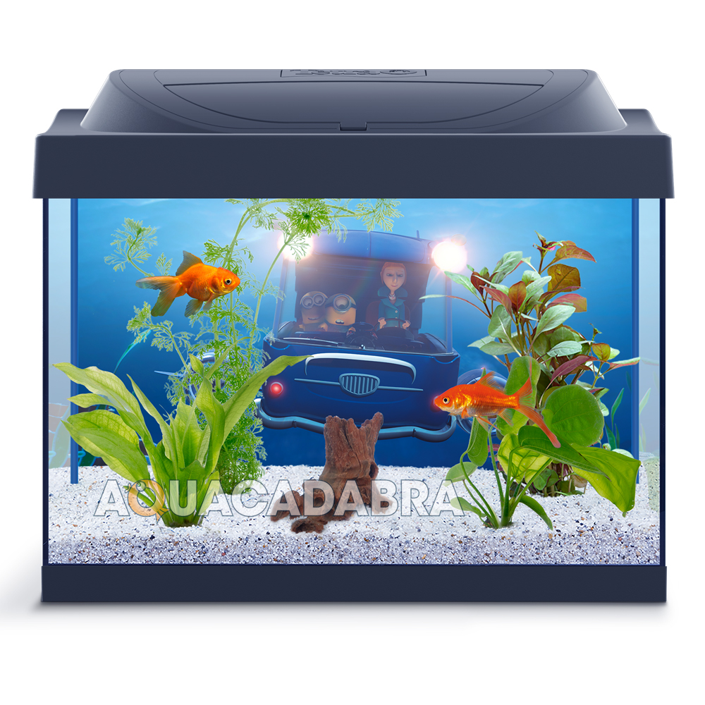 tetra minion 30l aquarium despicable me starter kit fun decorations fish tank 4004218272736 ebay. Black Bedroom Furniture Sets. Home Design Ideas