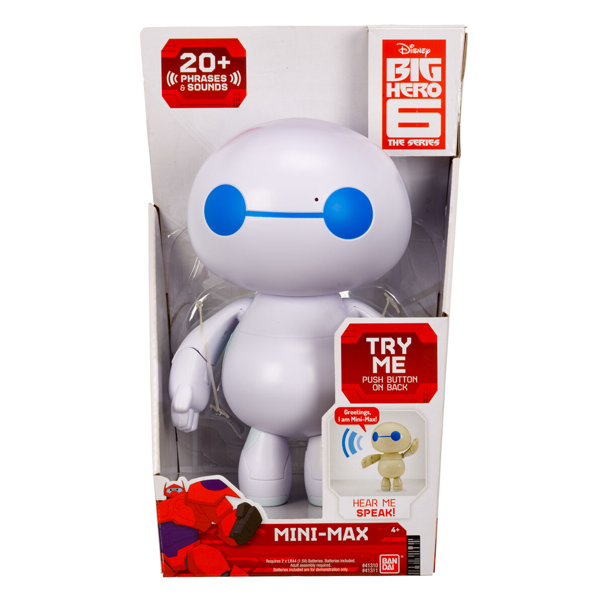 Disney Big Hero 6 Mini Max With Sounds And Phrases The Series Toys Games Tv Movie Character Toys