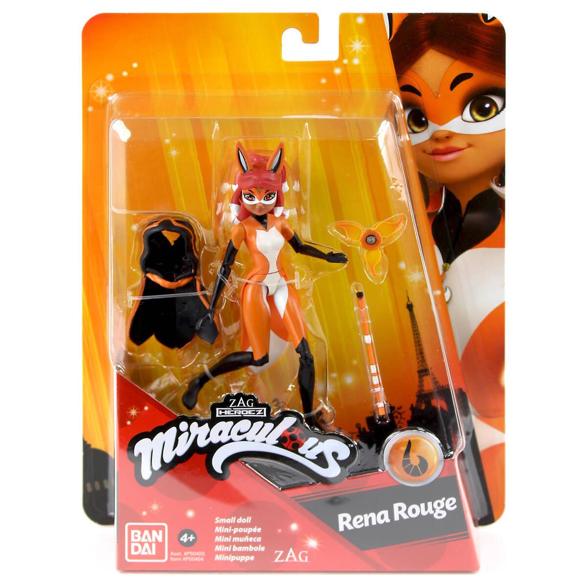Bandai Miraculous Ladybug P50404 Bambola 12 cm Rena Rouge