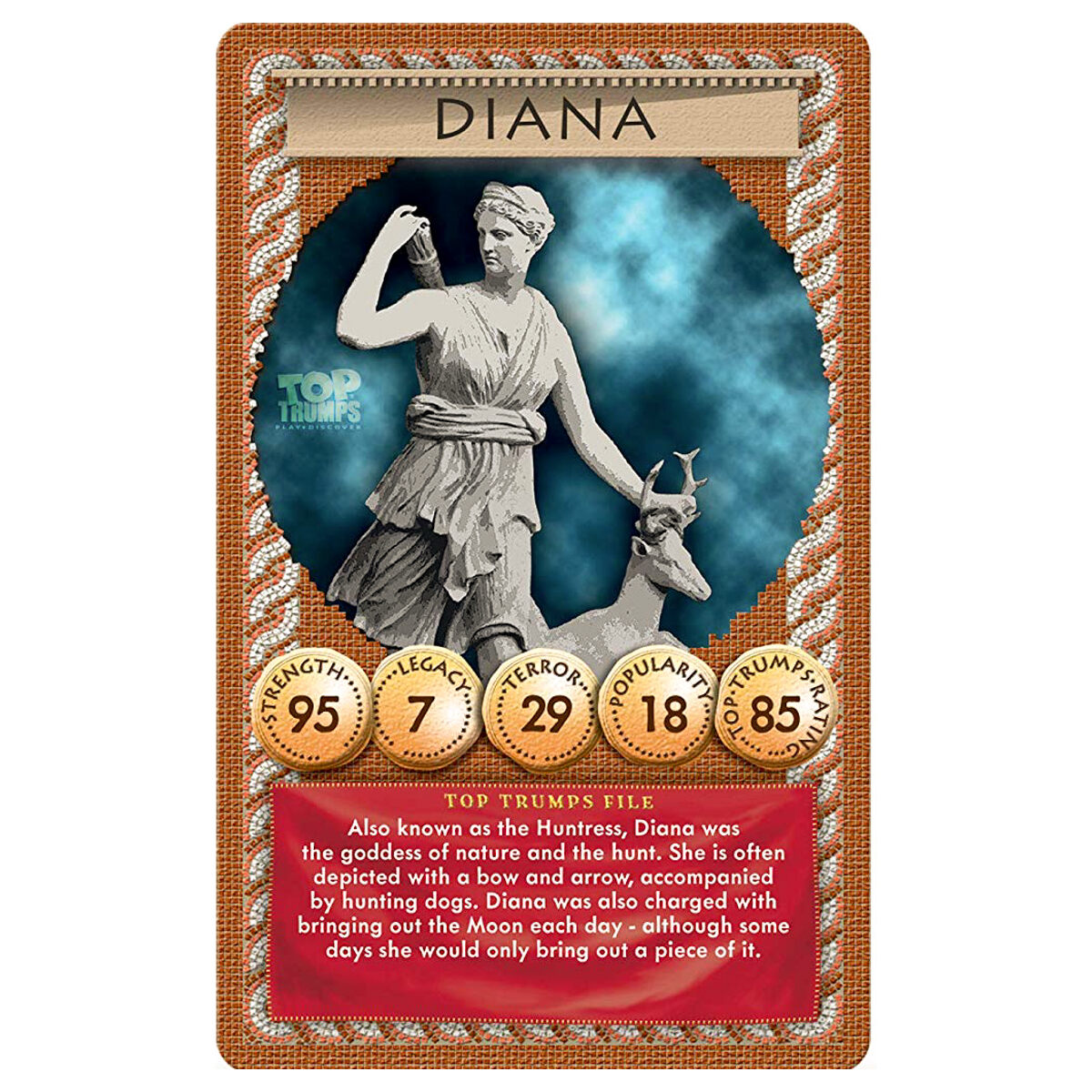 Details about Top Trumps Card Game Ancient Rome Gods and Emperors - 2019  RELEASE