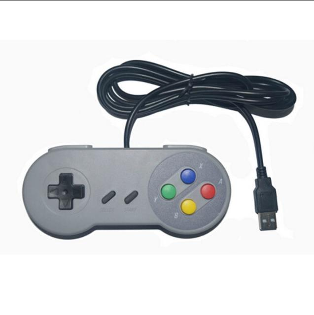 Details about SNES style USB controller for Win PC Mac Raspberry Pi  Nintendo gamepad ZedLabz