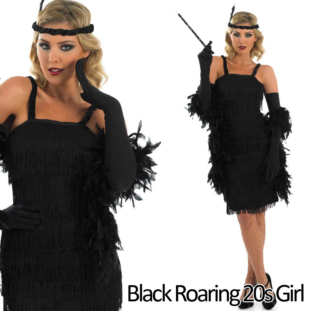 Flapper gangster costumes are not