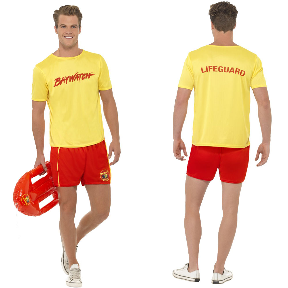 907cefe86d Baywatch-Fancy-Dress-Couples-90-039-s-Costume- Sc 1 St EBay. image number 2  of lifeguard costume guy ...