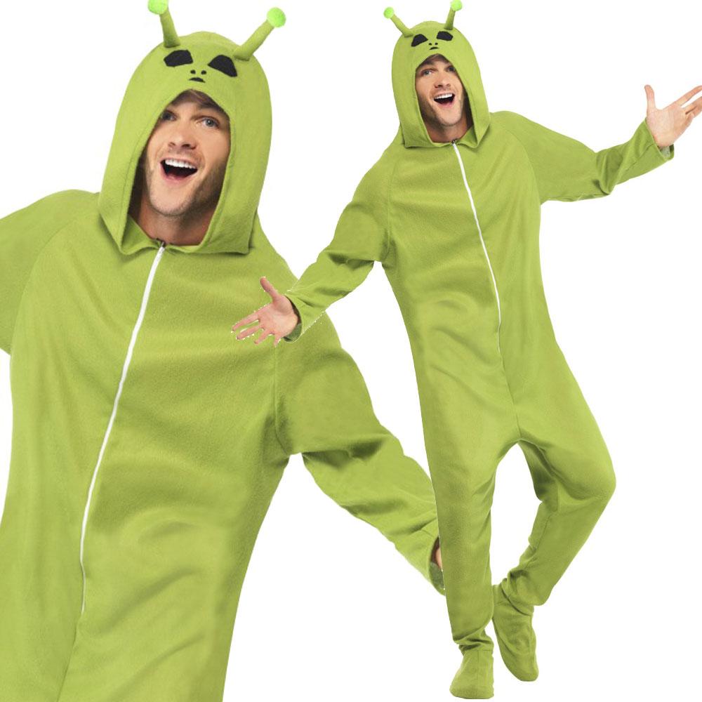Mens-Devil-Costume-Alien-Costume-Halloween-Fancy-Dress-  sc 1 st  eBay & Mens Devil Costume / Alien Costume Halloween Fancy Dress Comedy ...