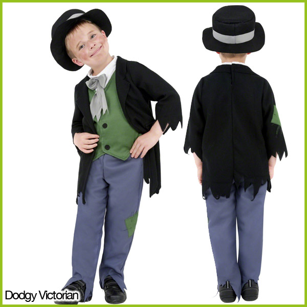 Kids-Victorian-Fancy-Dress-Costumes-Girls-Boys-Outfits-Age-4-12-yrs-Smiffys