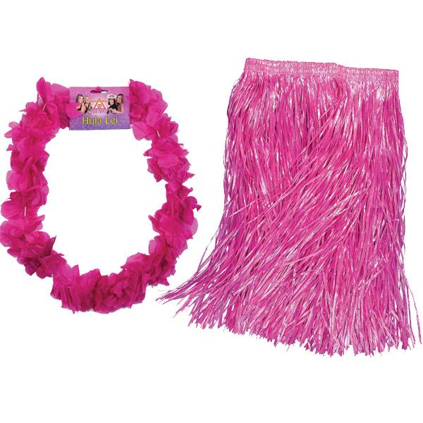 Pink Grass Skirt 9