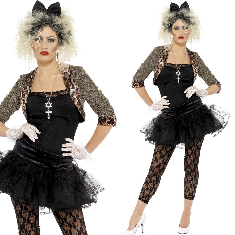 80s Wild Child Pop Icon Fancy Dress Costume