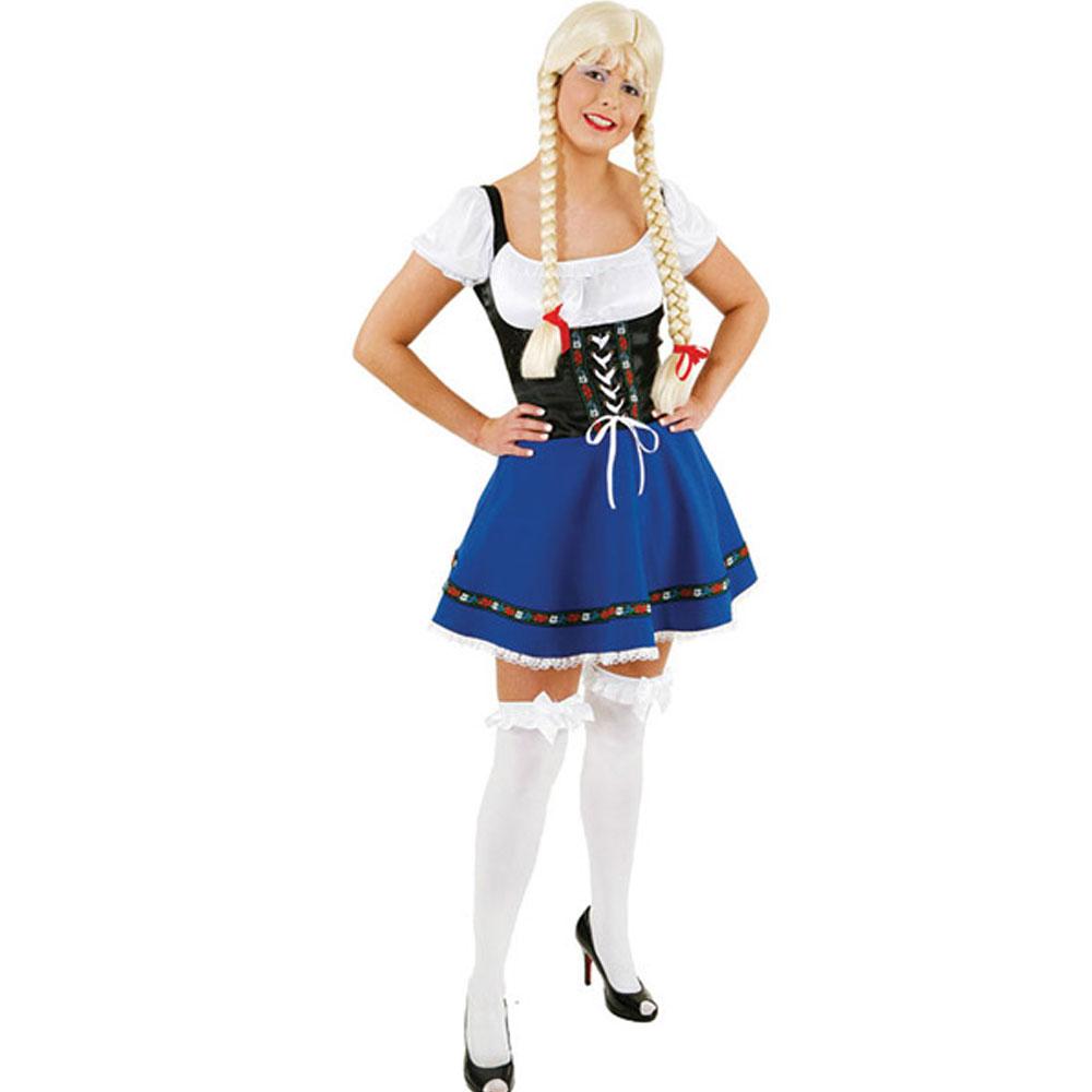 oktoberfest german swiss heidi bavarian beer maid fancy. Black Bedroom Furniture Sets. Home Design Ideas