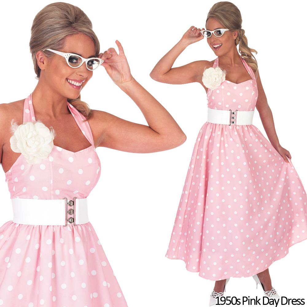 Cheap ladies 50s fancy dress