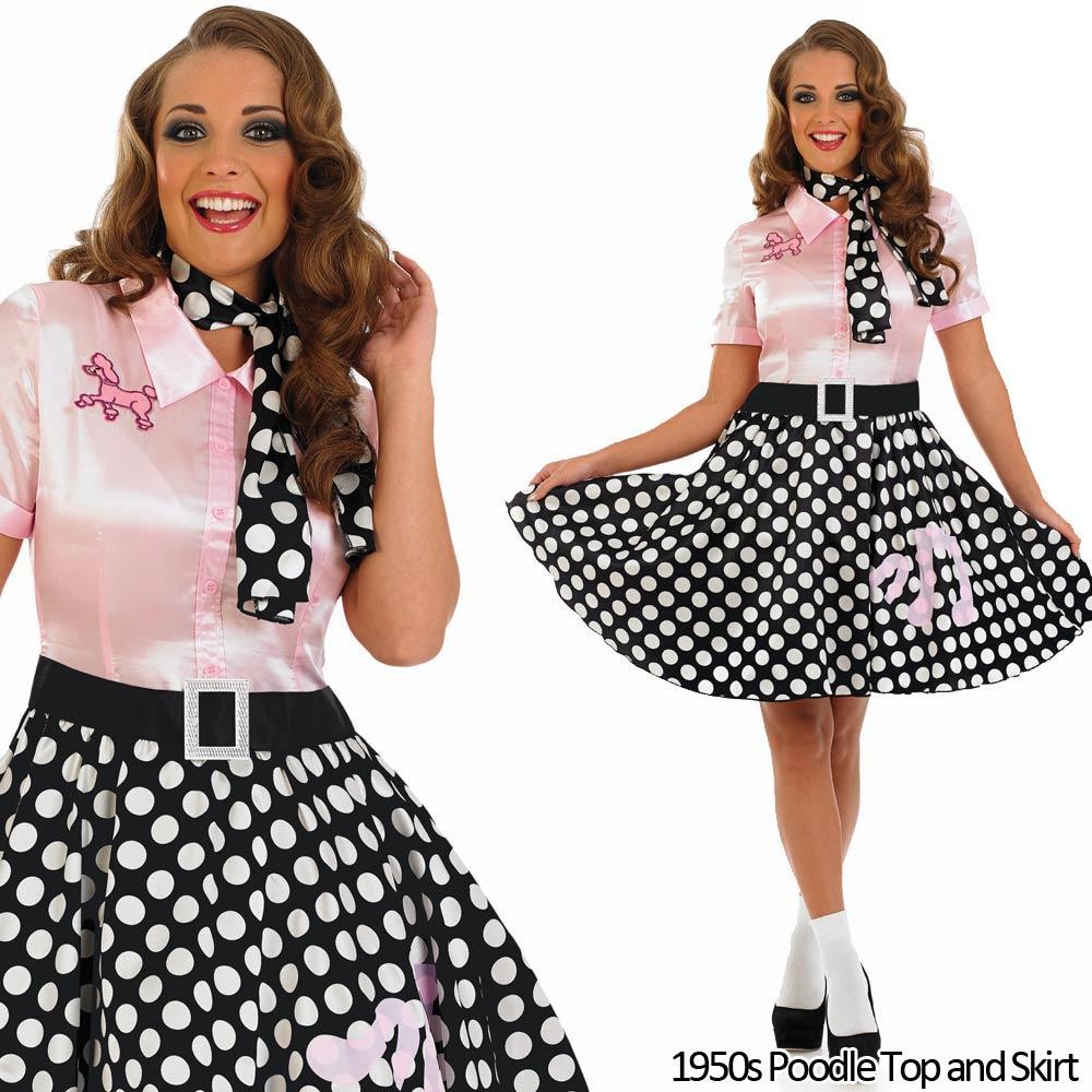 30s Fancy Dress Ladies 1930s Costume Womens Rock N Roll