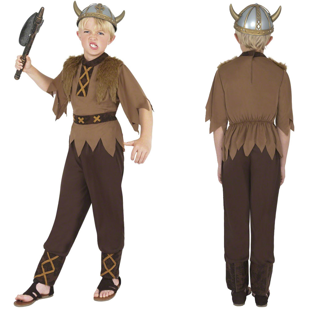 kids viking viking boy fancy dress costume historical