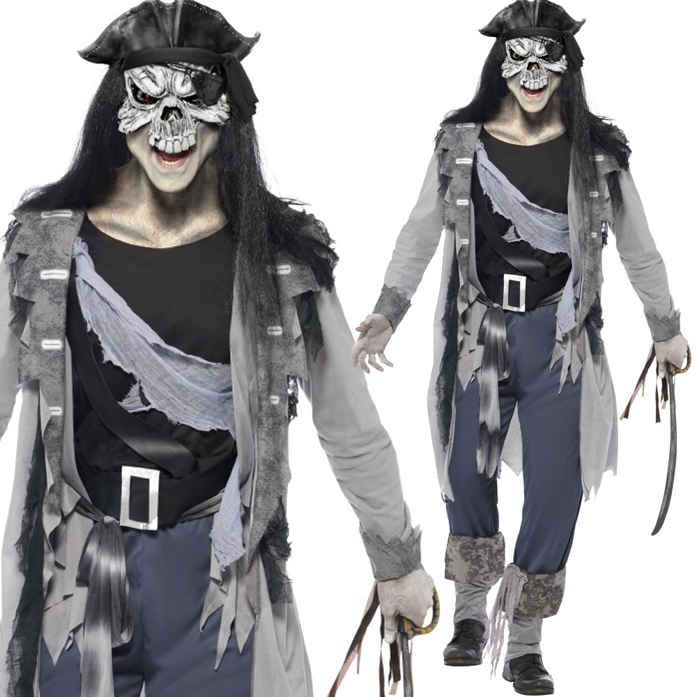 halloween ghost pirate costumes mens womens couples spooky