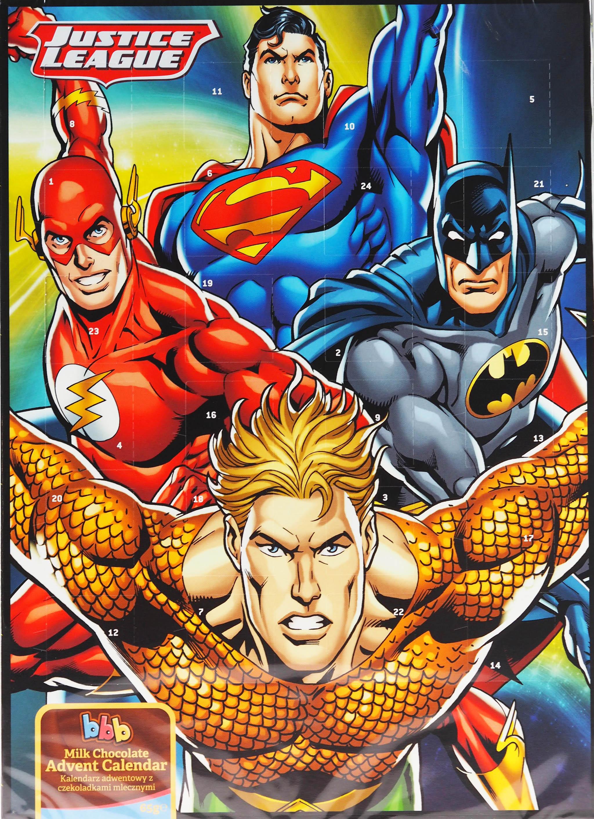 Justice League Christmas Chocolate Advent Calendar 5056086521323 | eBay