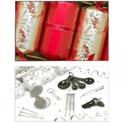 deluxe gold christmas crackers