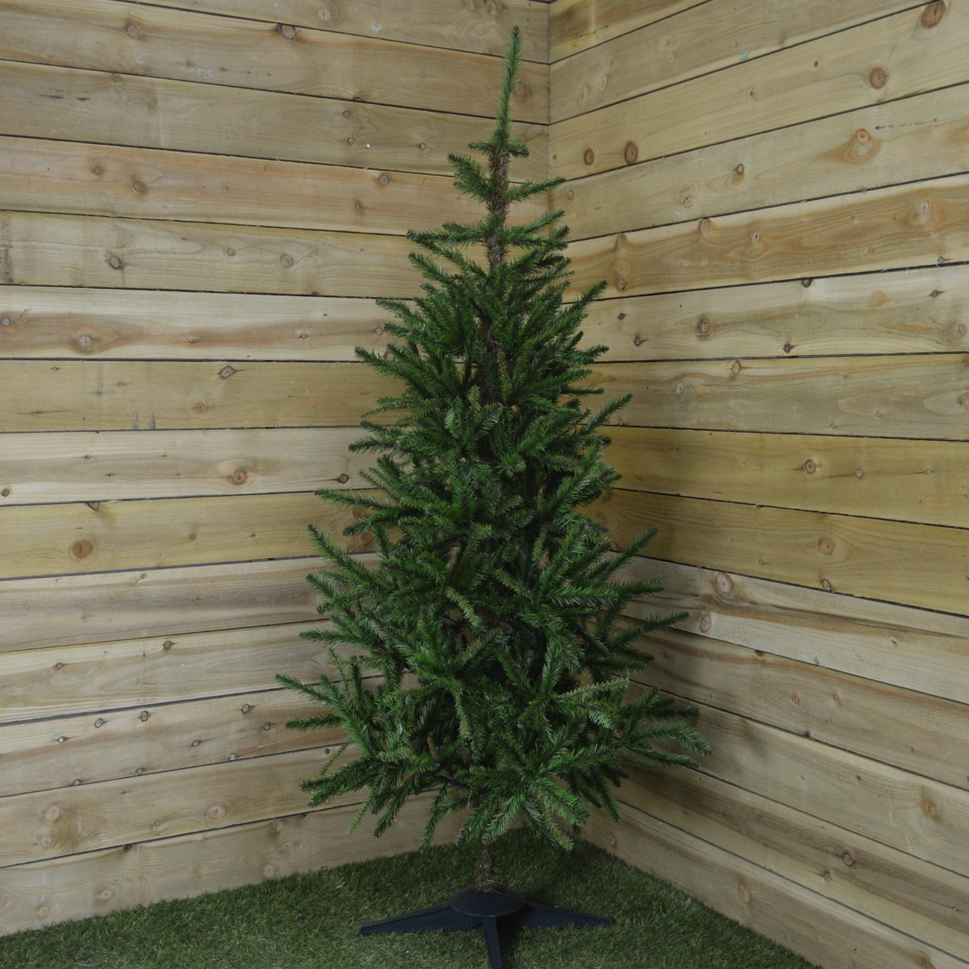 7Ft (210Cm) Snowtime Pinna Pine Artificial Christmas Tree