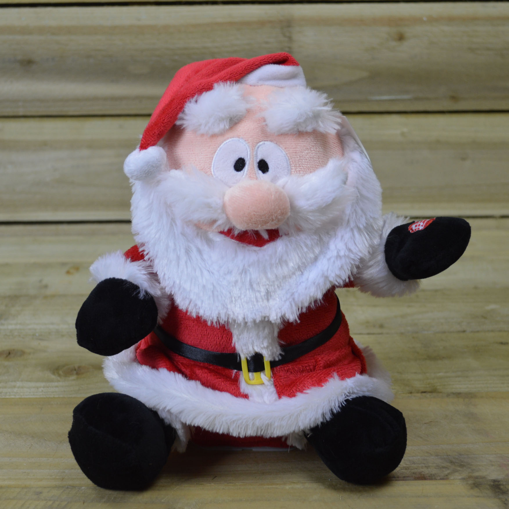 27cm Tall Animated Santa With Moving