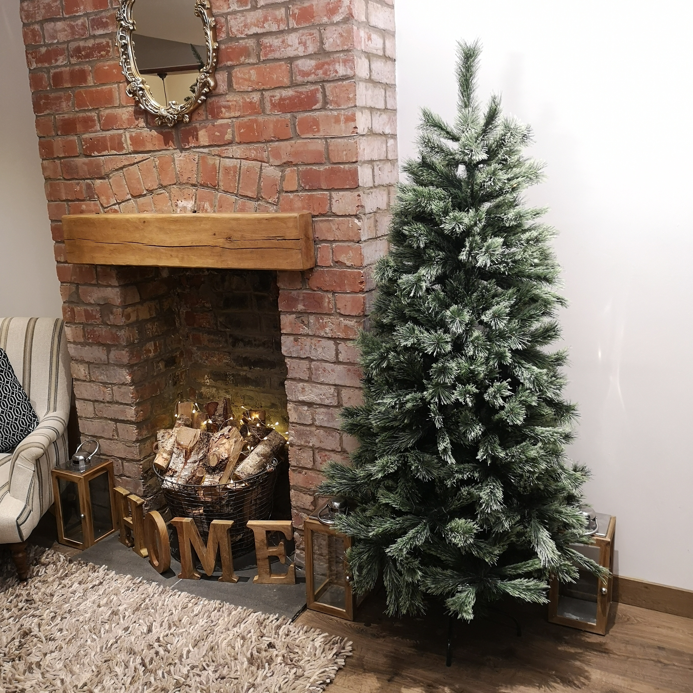 6 5ft 195cm Snow Time Arcadia Cashmere Green Christmas Tree With 537 Tips 8719152107223 Ebay