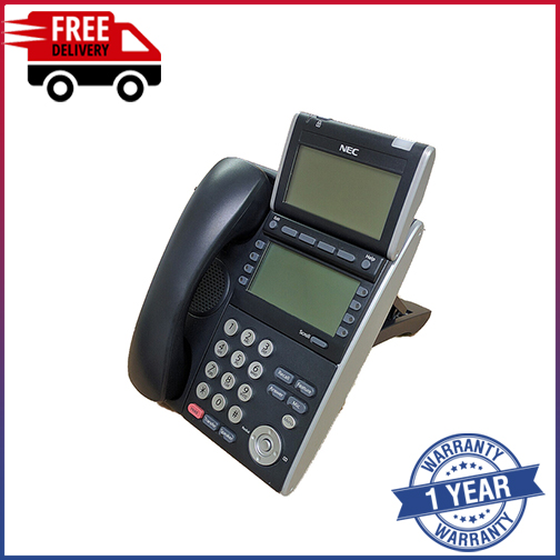 Details about NEC ITL 8LD-1P (BK) IP TELEPHONE BE106867 I 12 MONTHS WARRANTY